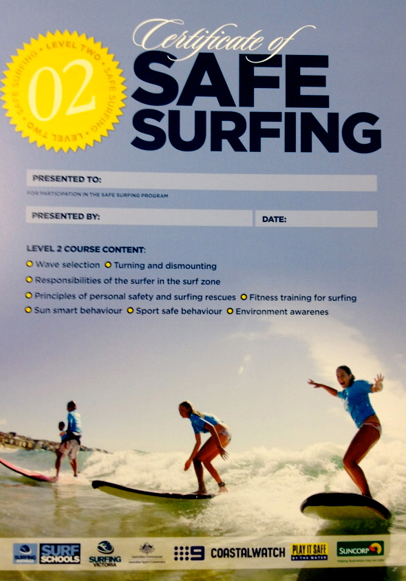 safe surfing level two certification